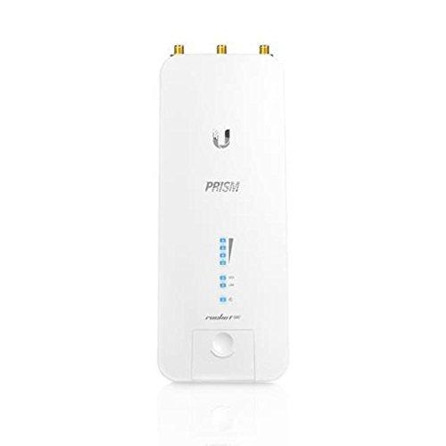 Ubiquiti Networks Rocket 5 AC Prism 500Mbit/s Energía sobre Ethernet (PoE) Color Blanco - Punto de Acceso (500 Mbit/s, 10,100,1000 Mbit/s, 500 Mbit/s, 5.150-5.875, FCC, IC, CE, WPA2-AES)