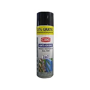 CRC – Spray Imprimación De Zinc Más Color En Un Sólo Producto.Antioxido Ral 9005 Negro 500Ml