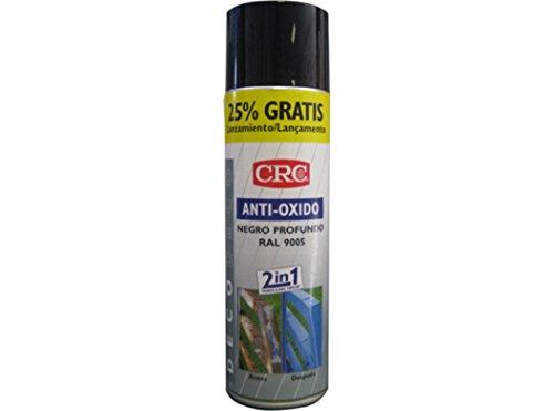 CRC - Spray Imprimación De Zinc Más Color En Un Sólo Producto.Antioxido Ral 9005 Negro 500Ml