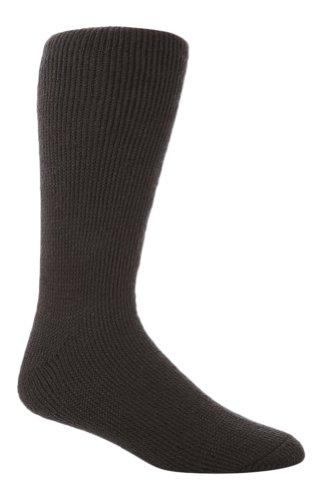 Sock Snob - Chaussettes basses - - Uni Homme Multicolore Bigarré 12-14 Uk - Gris - Gris charbon - XL