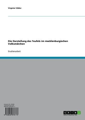 Die Darstellung des Teufels im mecklenburgischen  Volksmärchen