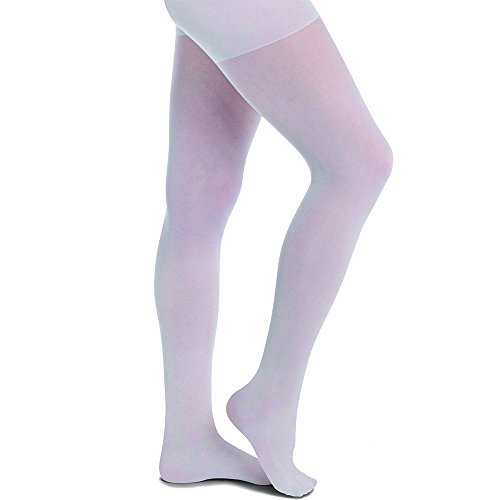 Nurse Mates Women's Medical Compression Pantyhose White C