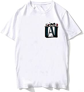M-HA Print t-Shirt my he-ro acade-MIA Anime Shirt Men/Women/Kids tee Shirt Summer Top Tees Suitable Gifts for Family and F...