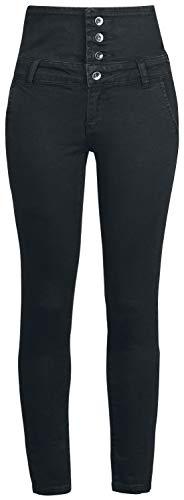 Forplay High Waist Denim Jeans Frauen Jeans schwarz W33L34