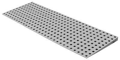 Schwellenrampe Modular für Innen | Rampe für Türschwellen | In verschiedenen Höhen erhältlich | Rollstuhlrampe (2 bis 3,6 cm x 75 cm)