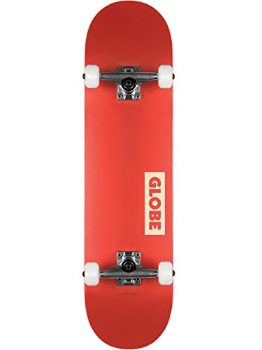 Globe Goodstock Skateboard, Unisex, für Erwachsene, Unisex, 10525351, Rot (Red), 7.75