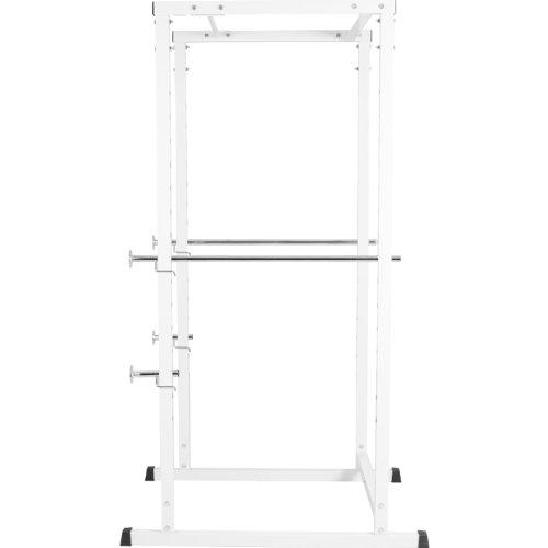 Gorilla Sports Power de Cage Fuerza Station Blanco – Fitness Station con Pesas + Barra Dominada – tüvr Rin País Certificado: Amazon.es: Deportes y aire libre