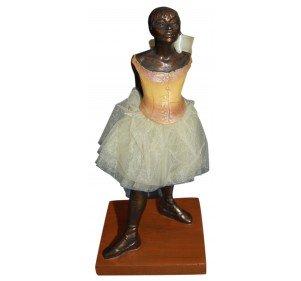 Beeld - De 14 jaar oude Ballet Dancer door Degas - Brons