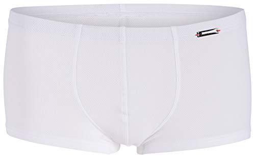 Olaf Benz Herren RED1950 Minipants Boxershorts, Weiß (white 1000), L (3er Pack)