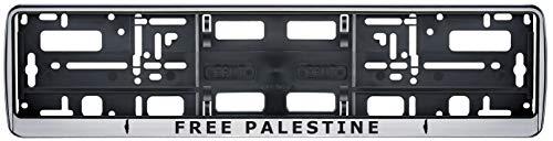 Auto Kennzeichenhalter Palästine Palastina v2 Fahne Flagge 2 Stück