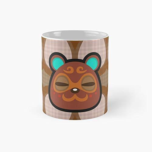 Clay Animal Crossing Taza de café clásica el mejor regalo divertido tazas de café de 325 ml Best Oz