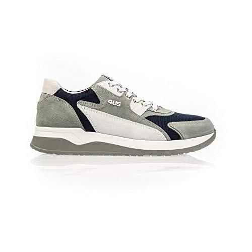 Paciotti 4us Cricket Sneakers Pwdu2tca, 9, Ghiaccio/Blu