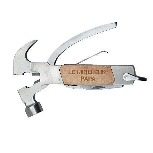 Gadget Storm Martillo Multiherramienta en Acero Inoxidable Herramienta Multifunci/ón 10 en 1