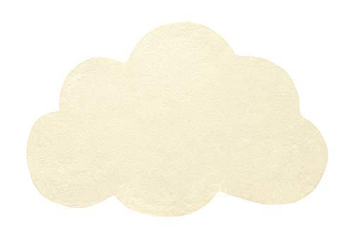 Lilipinso h0354Teppich aus Baumwolle gelb