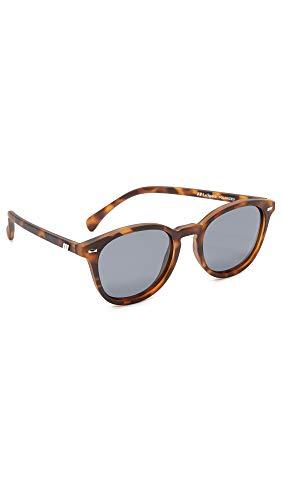 Le Specs Occhiali da sole opaco carrozzone taglia unica Tartaruga