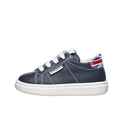 Nero Giardini E023800M Sneakers Kids da Bambino in Pelle - Incanto 23 EU