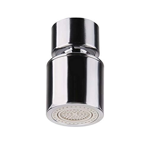 JYDQM Faucet de Cobre Certificado Dual FUNCIÓN Dual 2 FLEMA DE Cocina DE Cocina AERIADOR DE Cabeza DE FLACION DE SHIPTET DE 360 Grupos DE FLUCIPTER DE 360 Grupos (Color : A)