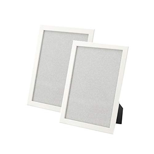IKEA new FISKBO Frame 8 1/4-by-11 3/4-inch Simple frame for documents or photographs, multiple Colour (2, white)