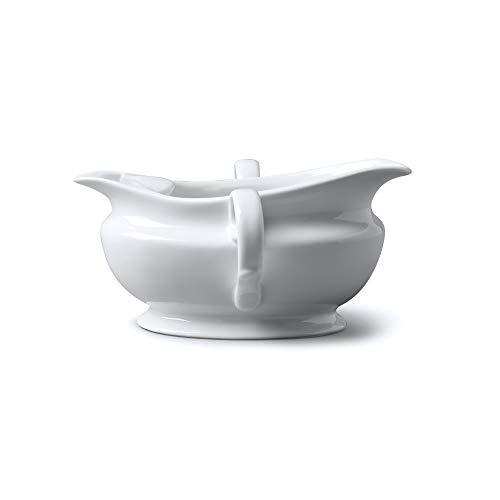 WM Bartleet & Sons 1750 T308 Fetttrenner aus Porzellan, 300 ml, Weiß