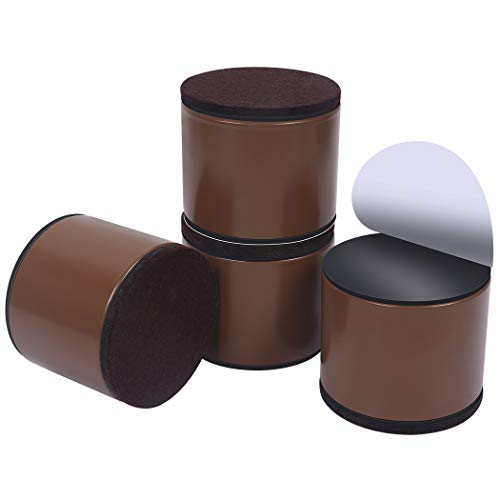 Elevadores de muebles de 5 cm, elevadores de cama de acero al carbono,...