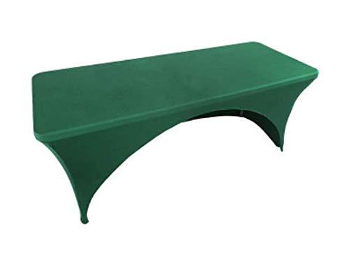 FDYB Hotel Konferenz Tischdecke Stretch Tisch Set Stretch Arch Tisch Grün Stretch Tischabdeckung 244 * 74 * 76Cm
