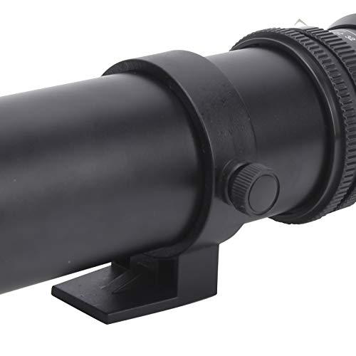 Pinsofy Lente de la cámara Lente Principal Manual del Accesorio de la cámara, para Disparar Animales Salvajes