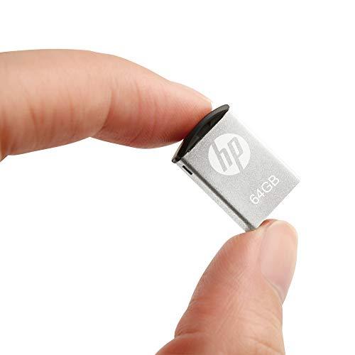 HP v222w Clé USB 2.0, Format Mini en Métal – 64GB