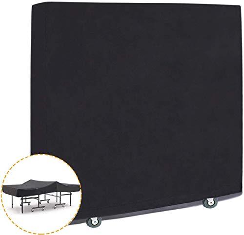 Minetom Tischtennisplatte Abdeckung Schutzhülle für Tischtennisplatte wasserdichte Tischtennisabdeckung| Oxford Gewebe | Universal passend 170x 160 x 70 x 20 cm | mit Reißverschluss