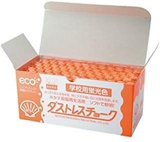 ダストレス学校用蛍光チョーク 72本 橙 品番:DCK-72-RG 注文番号:60195067 メーカー:日本理化学