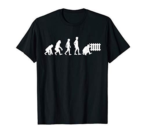 Herren Heizungsbauer Heizungsbau Heizungsinstallateur Geschenk T-Shirt
