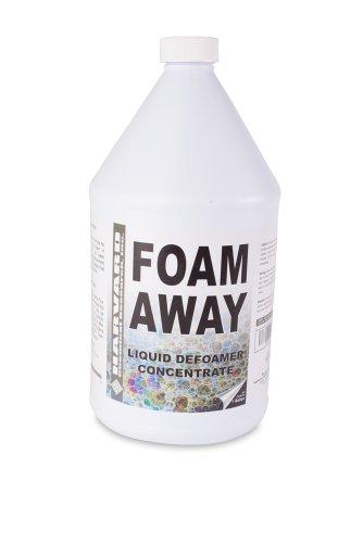 Harvard Chemical 511 Foam Away Silicone Emulsion Defoamer, Low Odor, 1 Gallon Bottle, White Turbid (Case of 4)