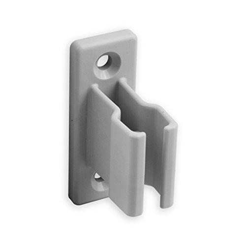 DIWARO® Kurbelhalter | für 12-17 mm Kurbeln | Kunststoff | grau | Rolllade, Rollo, Jalousie