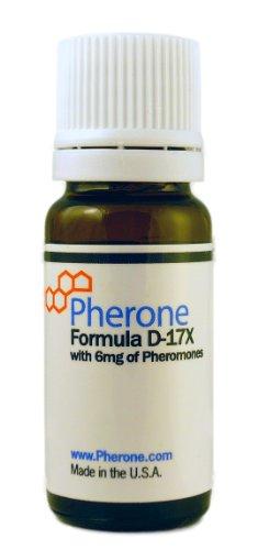 Pherone Formula D-17X Pheromon-Parfum für Männer. Macht Männer für Frauen attraktiv. Mit reinen, menschlichen Pheromonen.