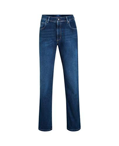 bugatti Herren Straight Leg Jeanshose 3280D R-16640 Gr. W44/L30 (Herstellergröße: 44/30) Blau (Navy 343)