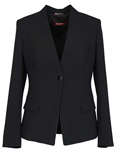 Luxury Fashion | Max Mara Studio Dames 6041040706001 Zwart Acetaat Blazers | Lente-zomer 20