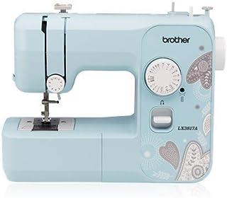 Brother LX3817A 17-Stitch Full-Size Aqua Sewing Machine (Renewed)
