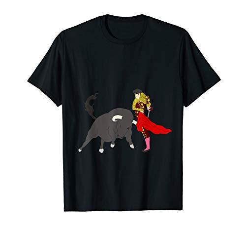 Stierkampf Torero Stier Matador Geschenk T-Shirt