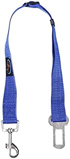 EZ-PET Car Seat Belt Clip for Pets (1 or 2-Pack) (Blue)
