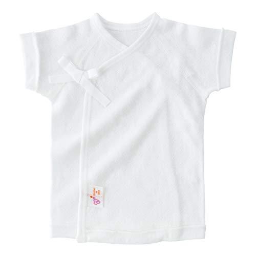 赤ちゃんの城 低出生体重児 短肌着 45cm スマイルコットン 日本製