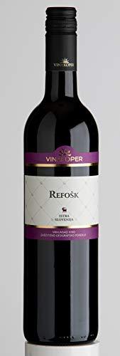 Vinakoper Teran Wein - Refošk 0,75 lt aus Istrien - EINWEG