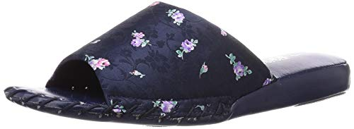 [パンジー] ルームシューズ スリッパ ヒールスリッパ 室内履き 履きやすい 手編み