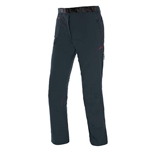 Trangoworld magoian Pantalons Longs, Femme L Gris (Anthracite)