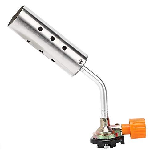 Gas Blow Torch Portable Verstelbare Handmatige Ontsteking Laspistool Voor Outdoor Barbecue 1300 ℃ voor Outdoor Barbecue