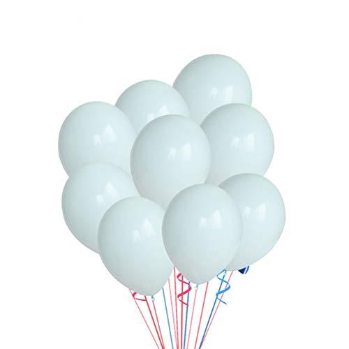 Toyvian 100pcs 10 Pouces 2,2 g / pc épaississent Ballons de Couleur Macaron pour Les Fournitures de Mariage d'anniversaire et décoration