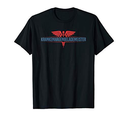 Krankenwagenbelademeister Notfallsanitäter Rettungsdienst T-Shirt