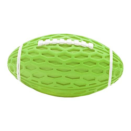 Wednesday Ball für Hunde, Rugbyball, Kauspielzeug, interaktives Spielzeug für Hunde, Molarkugeln aus Gummi für mittelgroße und große Hunde