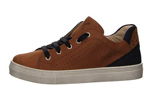 MICIO Alexander Hatt Jungen klassischer Schnürhalbschuh Long Beach Sneaker braun Gr. 38