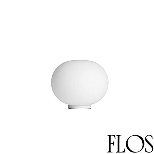 Flos Glo-Ball BASIC ZERO dimmer tafellamp glas wit F3330009 Jasper Morrison 2009 - ON-OFF