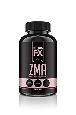 FX SUPPS ZMA Immune Support Supplement (90 Capsules) Premium Quality Formula with Zinc, Magnesium, and Vitamin B6 for Muscle Recovery, Sleep, and Immunity Boost, 30 Mg