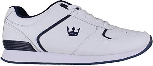 Crown King Mens/Womens Leather Lace Up/Touch Fasten Crown...